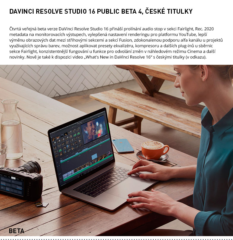 DAVINCI RESOLVE STUDIO 16 BETA 4