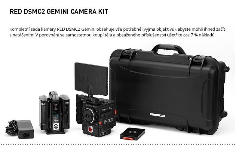 RED DSMC2 GEMINI CAMERA KIT