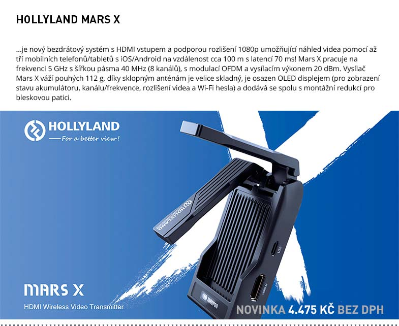 HOLLYLAND MARS X