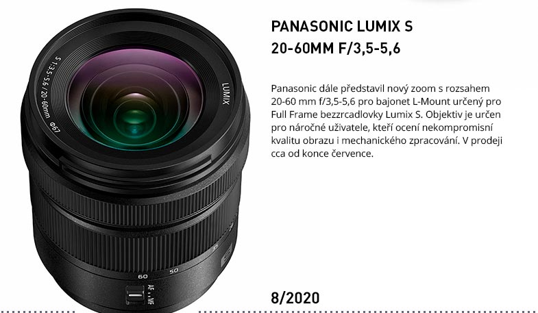 PANASONIC LUMIX S 20-60MM
