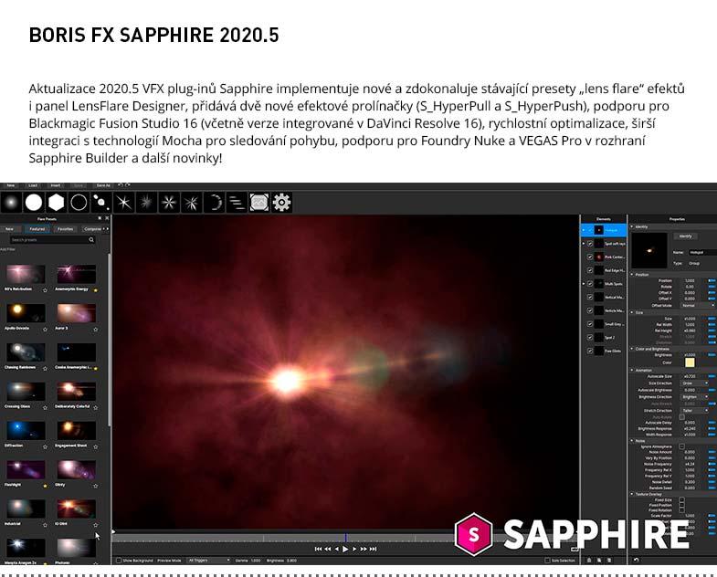 BORIS FX SAPPHIRE 2020.5