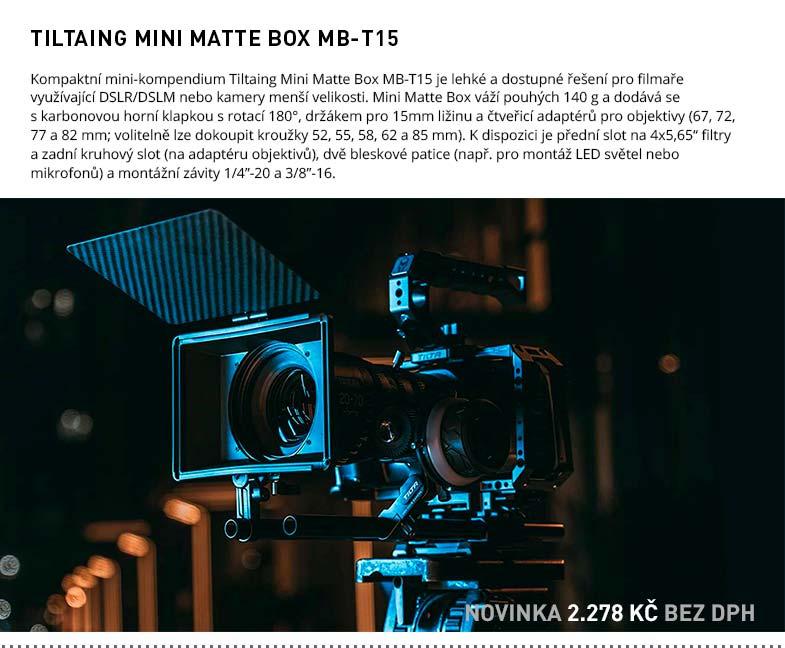TILTAING MINI MATTE BOX MB-T15