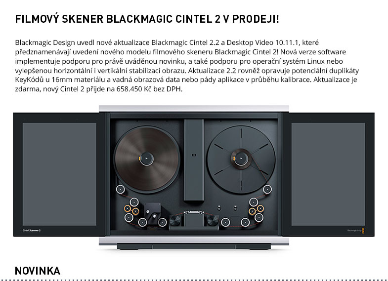 BLACKMAGIC CINTEL 2
