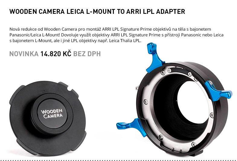 WOODEN CAMERA LEICA L MOUNT TO ARRI LPL ADAPTER