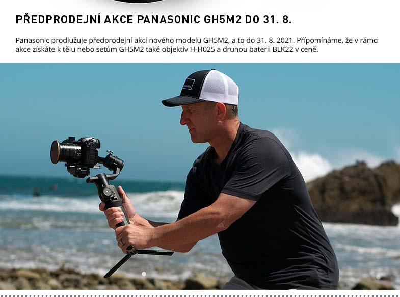 AKCE PANASONIC GH5M2