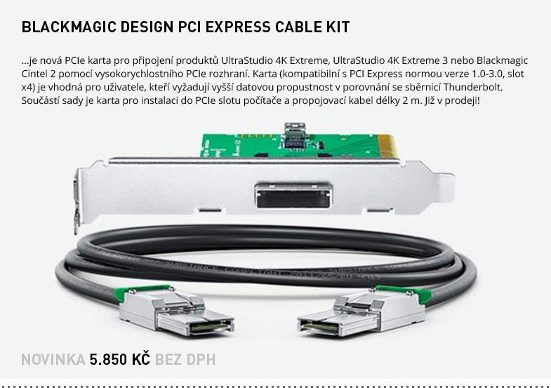 BLACKMAGIC DESIGN PCI EXPRESS CABLE KIT