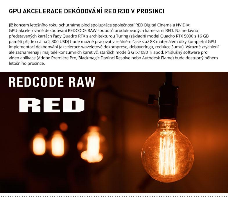 GPU AKCELERACE RED R3D