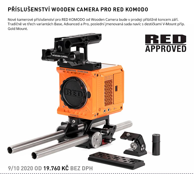 WOODEN CAMERA PRO RED KOMODO