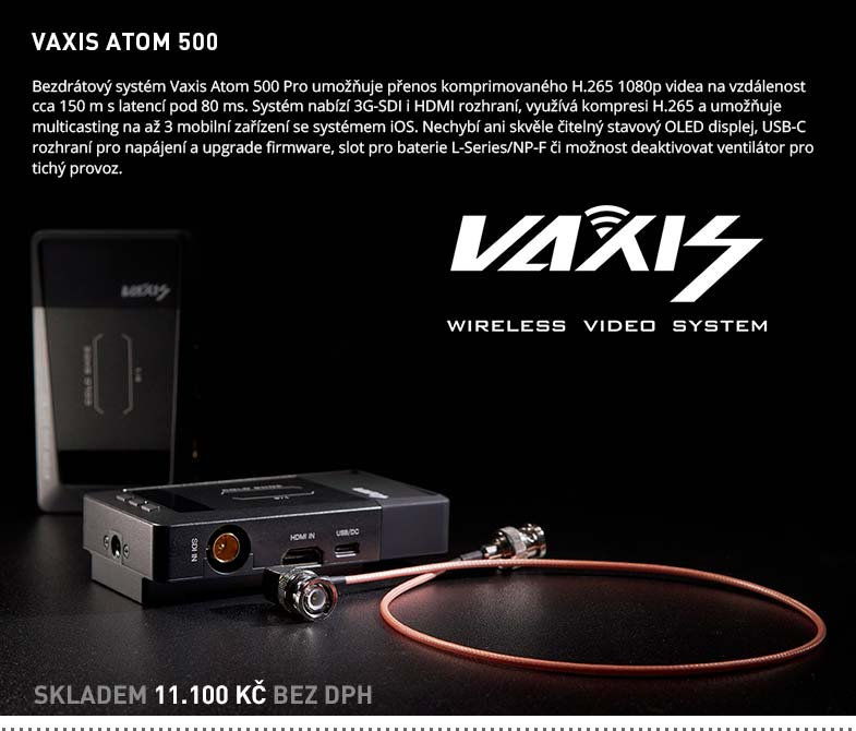 VAXIS ATOM 500
