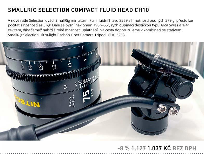 SMALLRIG SELECTION COMPACT FLUID HEAD CH10