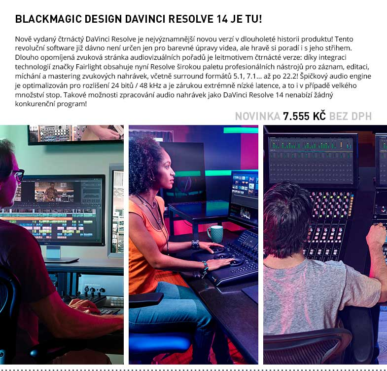 Blackmagic Design DaVinci Resolve Studio 14