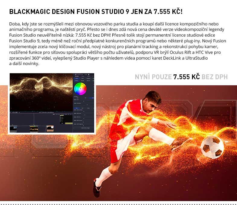 Blackmagic Design Fusion Studio 9