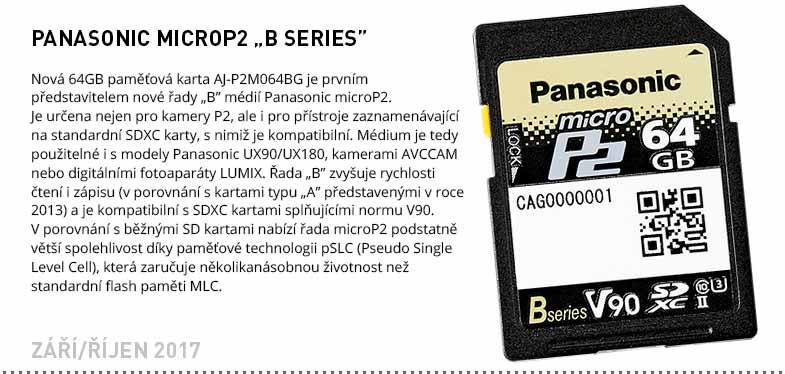 Panasonic MicroP2 B Series