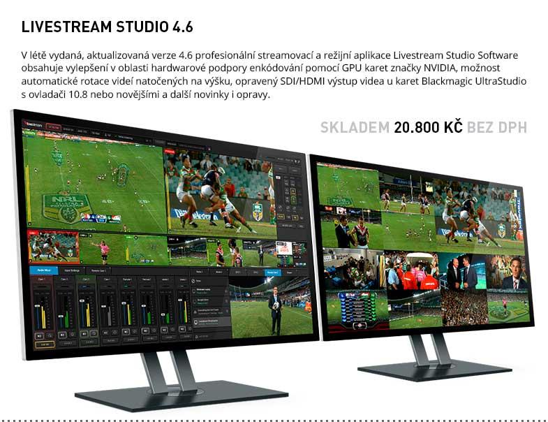 Livestream Studio Software 4.6