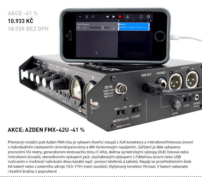 AKCE: AZDEN FMX–42U -41