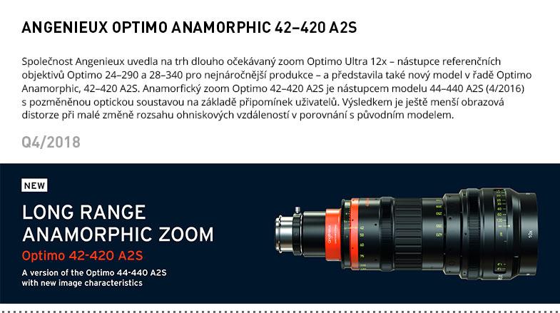 ANGENIEUX OPTIMO ANAMORPHIC 42-420 A2S