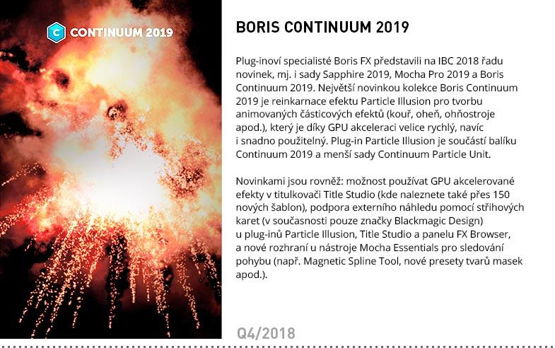 BORIS CONTINUUM 2019