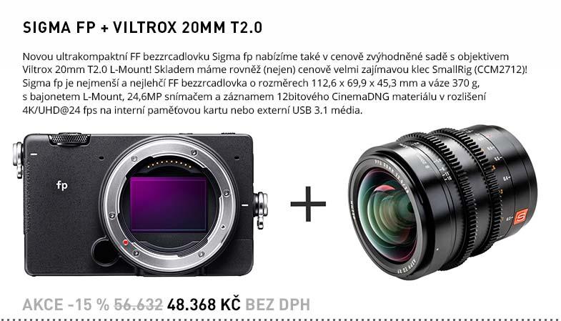 SIGMA FP VILTROX 20MM T2.0