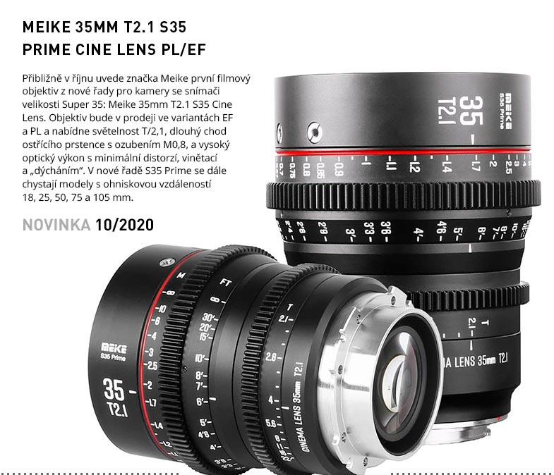 MEIKE 35MM T2.1 S35 PRIME CINE LENS