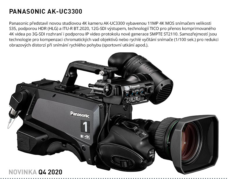 PANASONIC UC3300