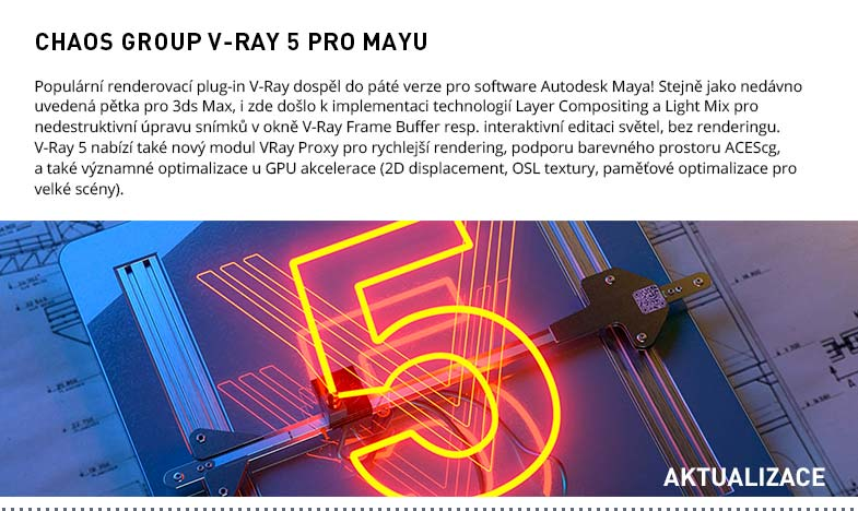 CHAOS GROUP V-RAY 5 PRO MAYU