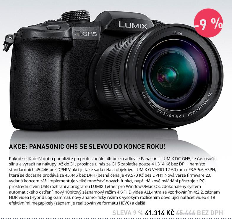 Panasonic DC-GH5 AKCE SLEVA