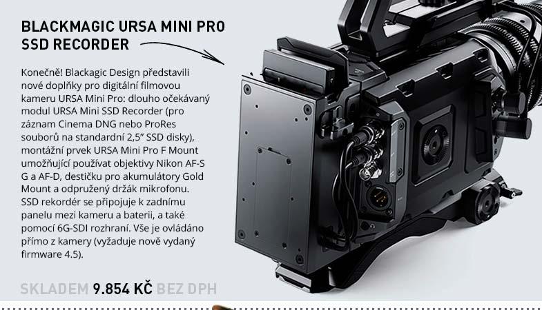 Blackmagic Design URSA Mini Pro SSD Recorder