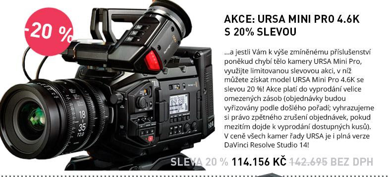 Blackmagic Design URSA Mini Pro AKCE SLEVA