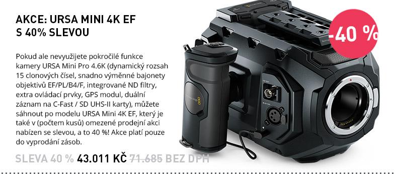Blackmagic Design URSA Mini AKCE SLEVA