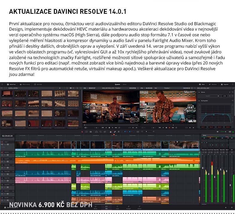 Blackmagic Design DaVinci Resolve 14.0.1