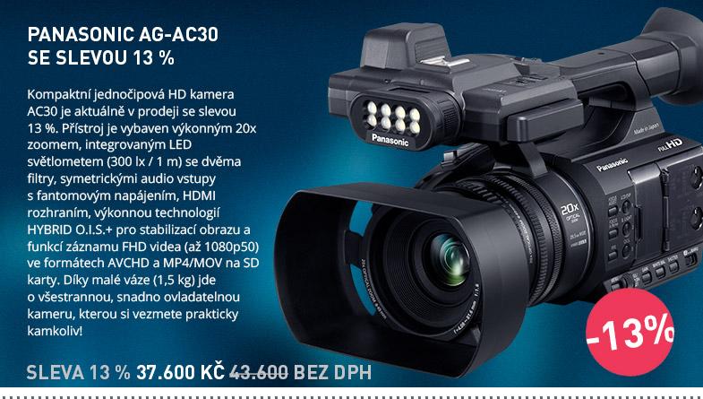 Panasonic AG-AC30 AKCE SLEVA