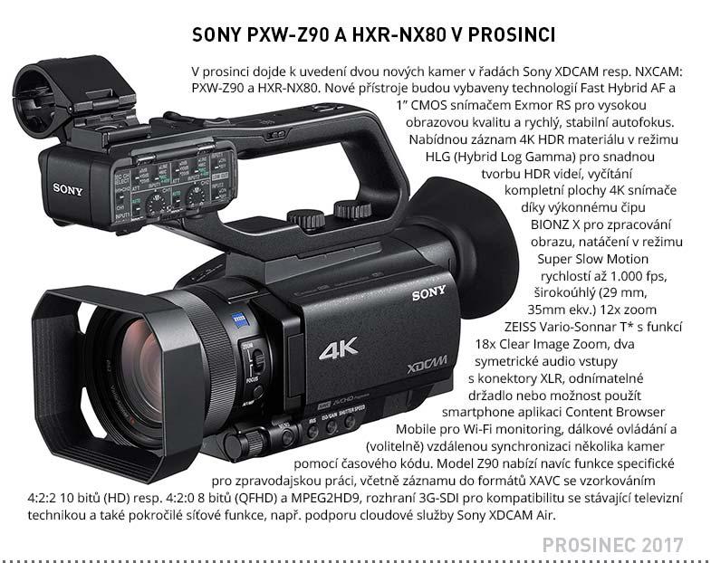 Sony PXW-Z90 HXR-NX80
