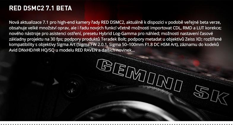 RED DSMC2 7.1 BETA