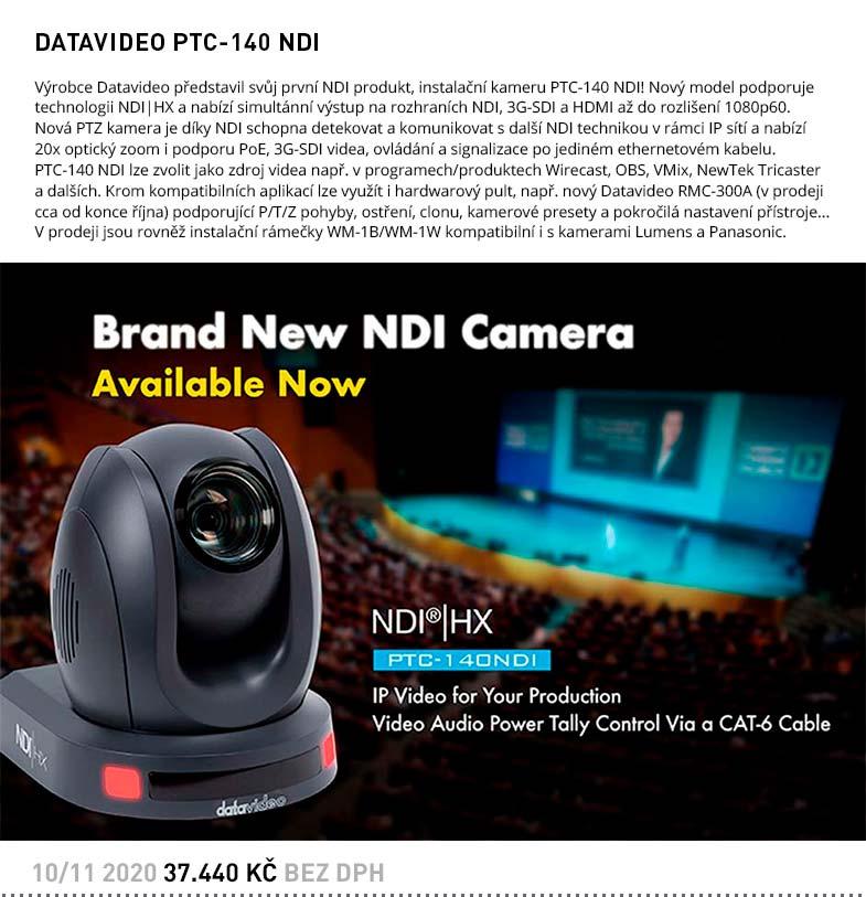 DATAVIDEO PTC-140 NDI
