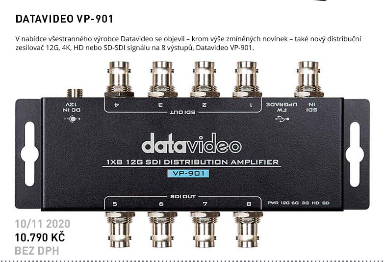 DATAVIDEO VP-901