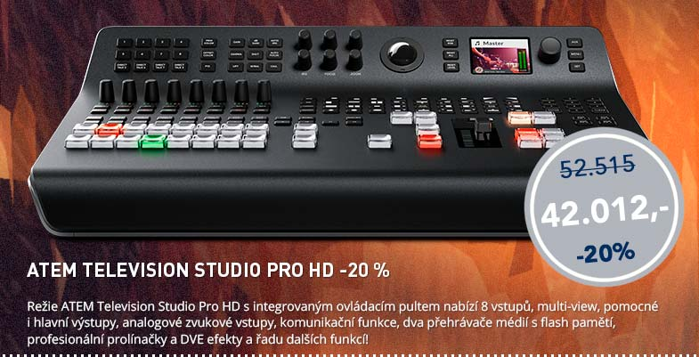Blackmagic Friday: ATEM Television Studio Pro HD -20%