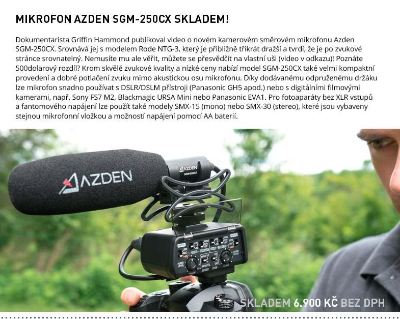 Azden SGM-250CX skladem
