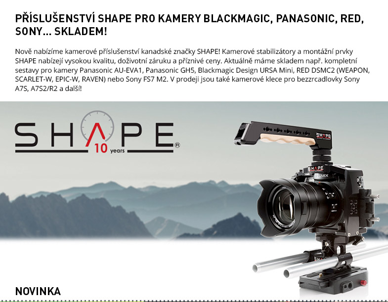 Shape Camera Accessories