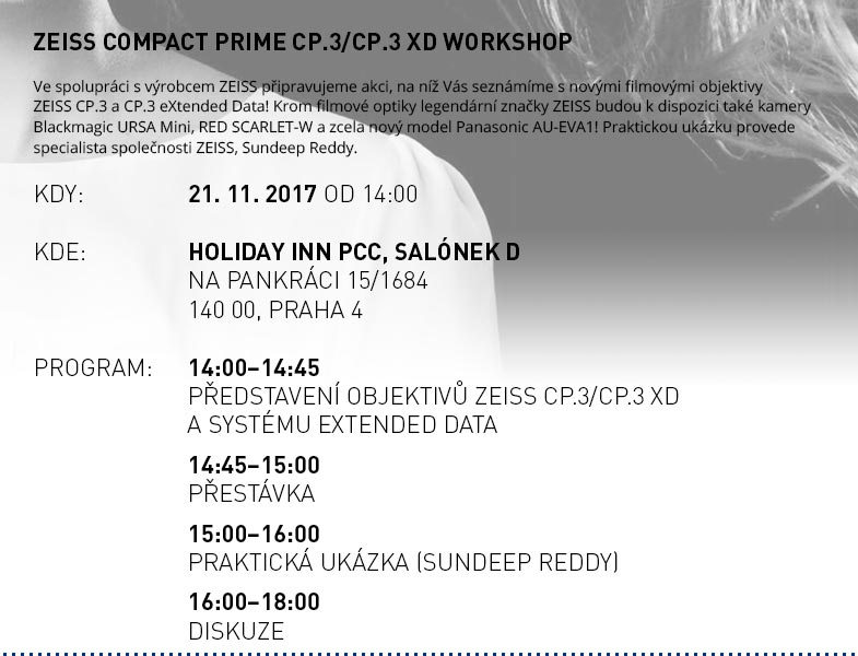 ZEISS Compact Prime CP.3/CP.3 XD WORKSHOP