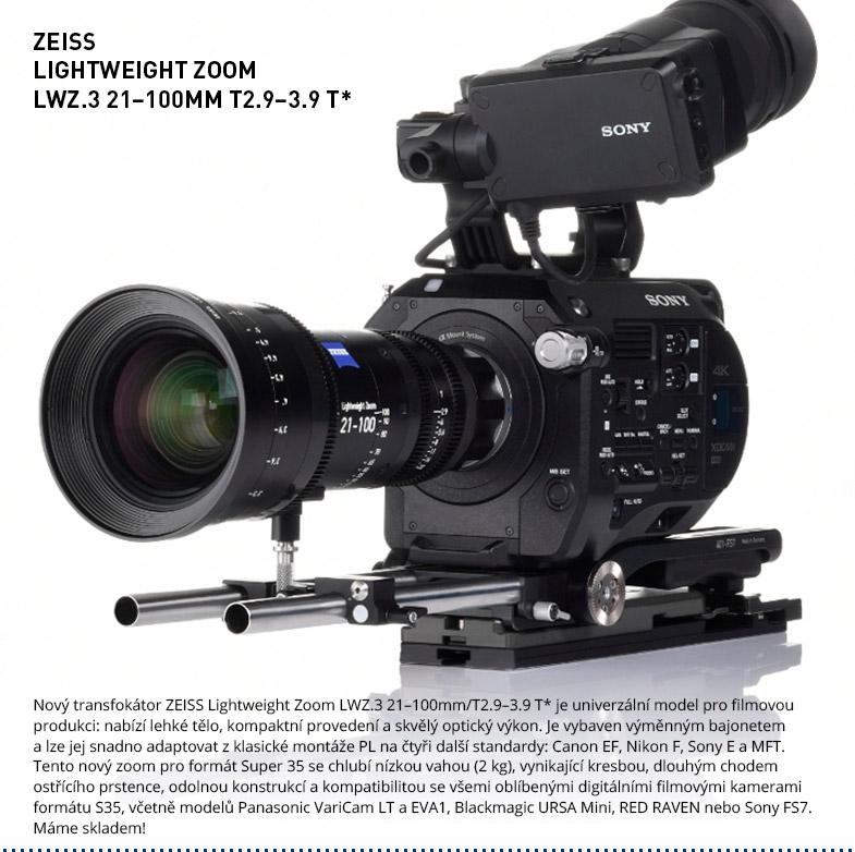 ZEISS Lightweight Zoom LWZ.3 21-100mm/T2.9-3.9