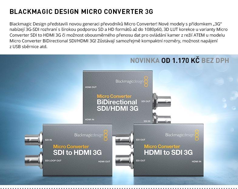 BLACKMAGIC DESIGN MICRO CONVERTER 3G
