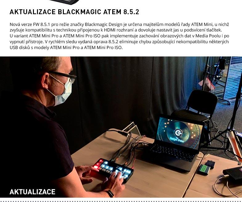 AKTUALIZACE BLACKMAGIC ATEM 8.5.2