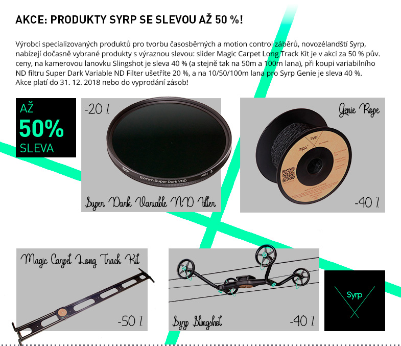 SYRP -20 – -50 %!