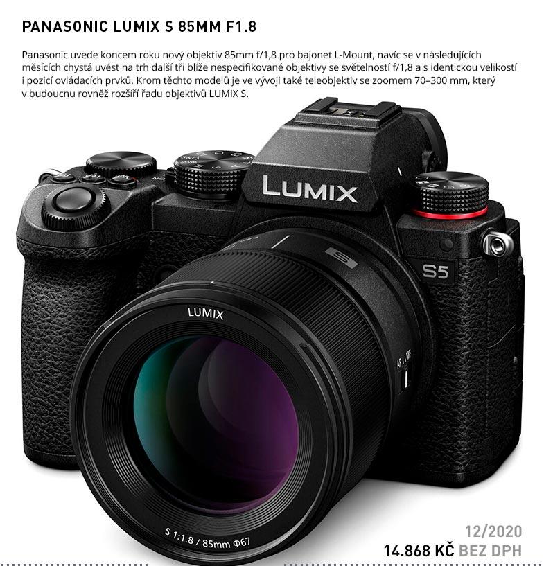 PANASONIC LUMIX S 85MM F1.8